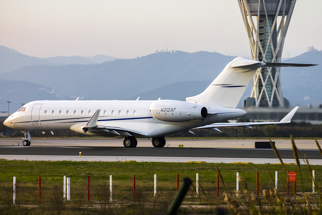 N312AF - GL6T - Jet Aviation Flight Services