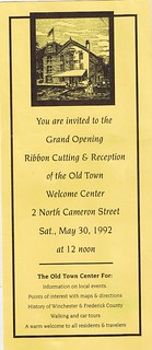 Old Town Welcome Center Ribbon Cutting