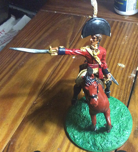 British high commander 54mm