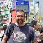 Nik in Shibuya