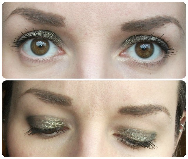 Makeup Revolution Fortune Favours The Brave Greens Eye Makeup Look