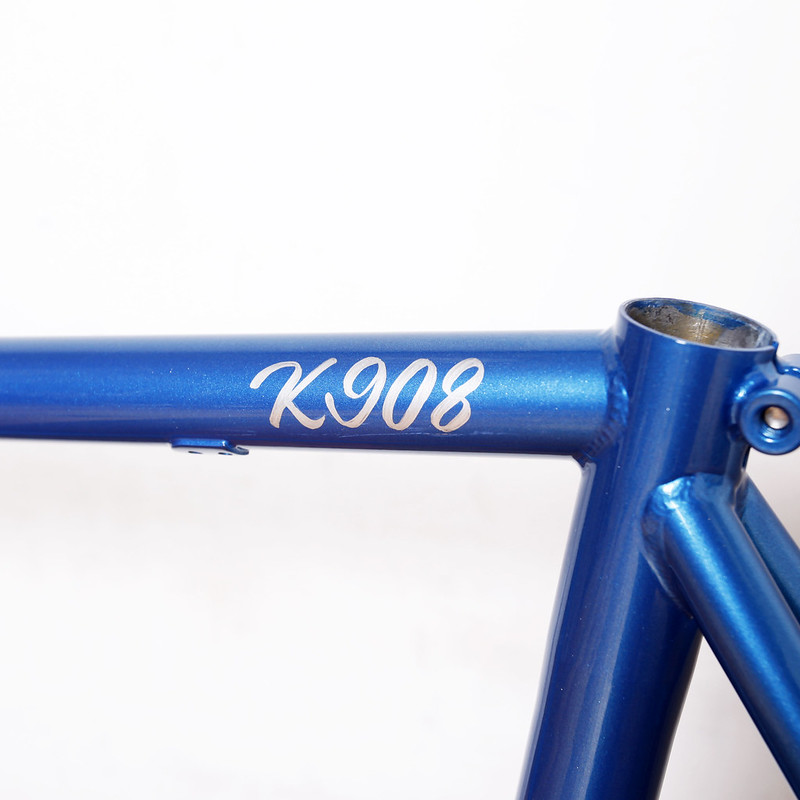 Steel Era Frame Set Custom Paint By Swamp Things