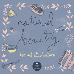 Natural Beauty Tips and Illustrations