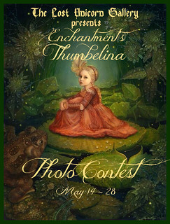 The Lost Unicorn Gallery presents Enchantment's Thumbelina Photo Contest!