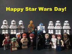Happy Star Wars day! (May The 4th Be With You 2016)