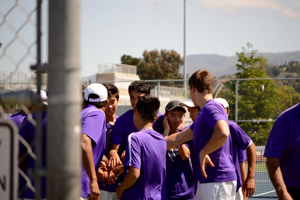 Boys tennis vs. Los Gatos HS