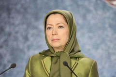 Maryam Rajavi at the Ramadan meeting in solidarity with the Syrian Revolution (6)