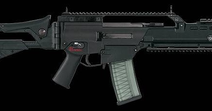 Morning shooters. Today we are going after the H&K G36. It's been stiring up a lot of controversy over it's main fallacy. The rifle is a German made assault rifle & also used as the Squad automatic weapon when you throw in a 100rd drum and switch the sele