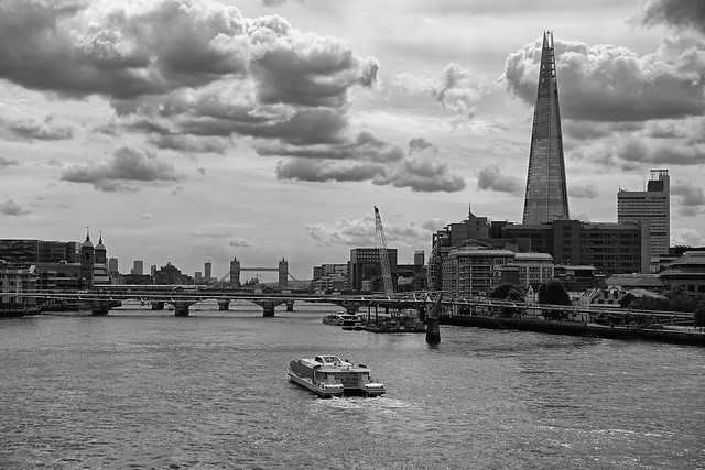 366 - Image 180 - Looking along the Thames...