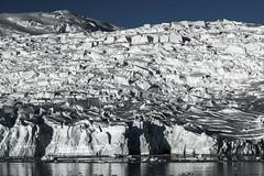 B&W ice blocks