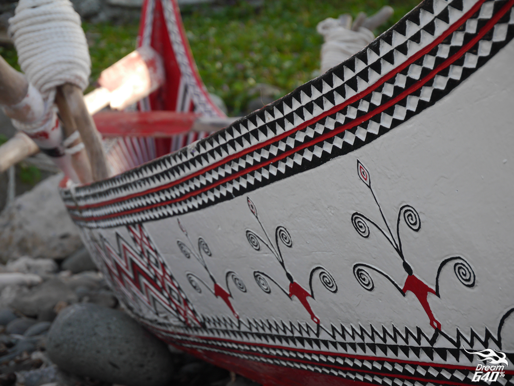 蘭嶼拼板舟_Lanyu Carving Boat48