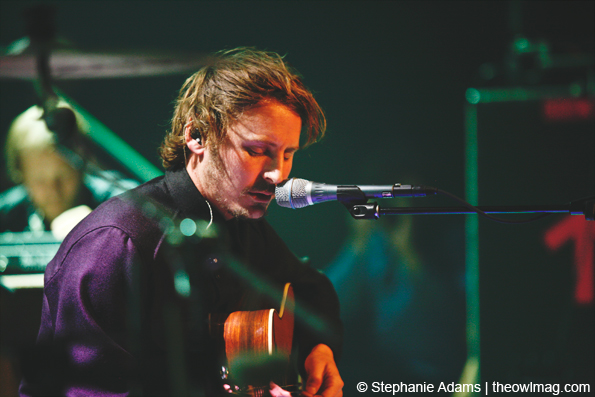 Ben Howard @ Music Hall Of Williamsburg, NYC 10/29/14