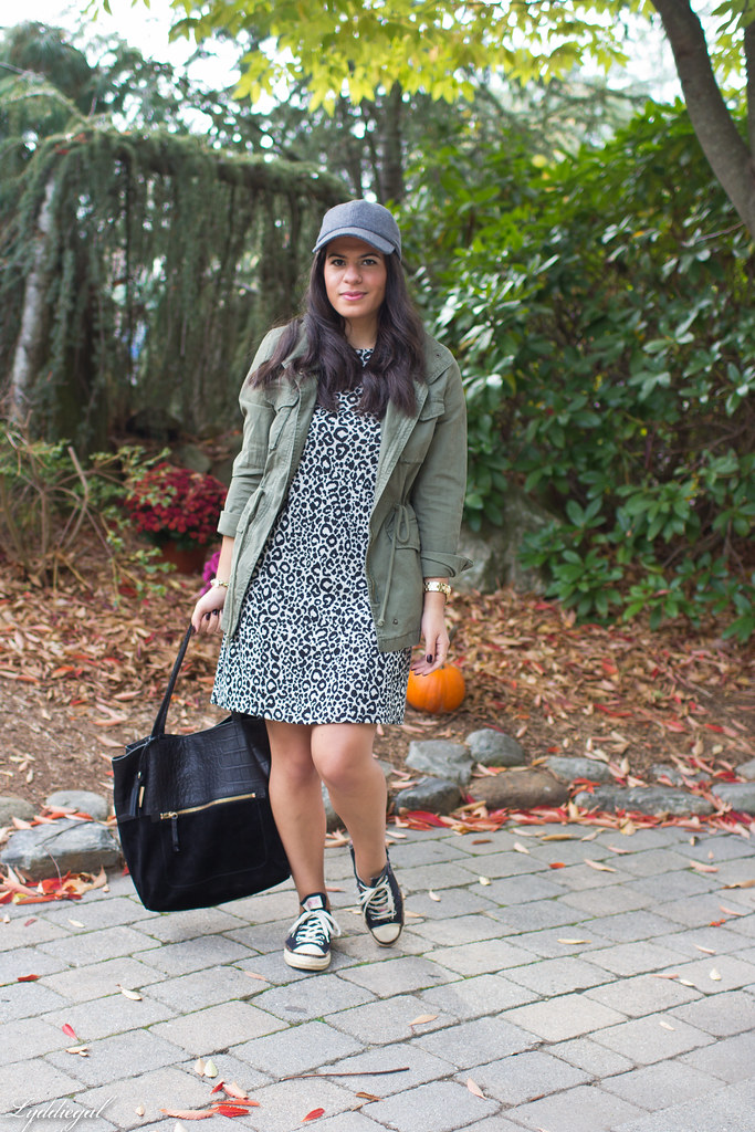 Leopard dress, utility jacket, converse-3.jpg