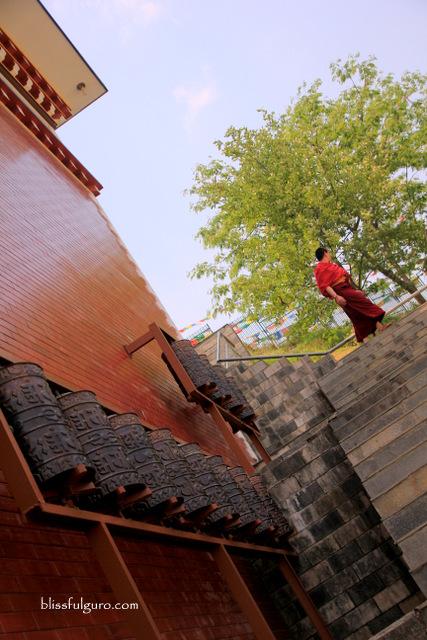 Dhulikhel Nepal Thrangu Tashi Yangtse Monastery
