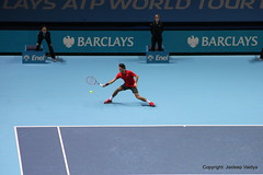 Roger Federer vs Andy Murray at 2014 ATP World Tour Finals