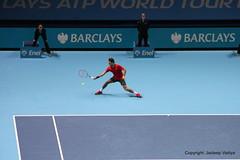 Roger Federer vs Andy Murray at 2014 ATP World Tour Finals