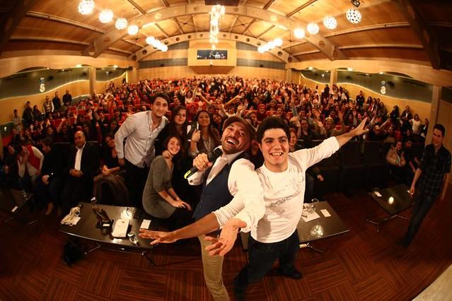 Ceyhun Yılmaz, Üsküdar Üniversitesi'nde öğrencilerle buluştu 2
