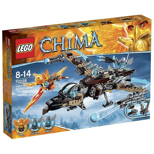 LEGO Legends of Chima 70228 Box