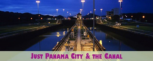 Just Panama City and the Canal