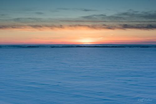winter sunset fields prairie bluedesert sturgeoncounty
