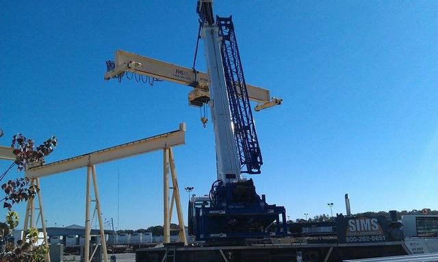 sims crane at florida handling systems