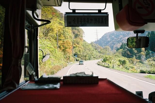 秋の暖色 minolta HI-MATIC E meets Kodak PORTRA160