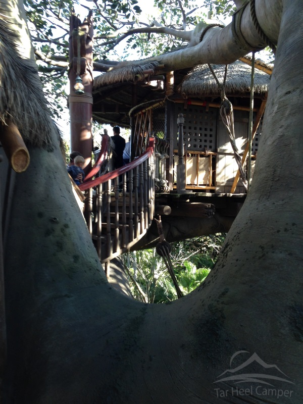 Walt Disney World - Swiss Family Treehouse