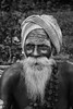 Candid portrait of Sanyasi