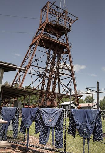 statepark railroad history minnesota architecture underground outfit uniform iron mine historic mining jeans overalls denim range ore soudan bibs