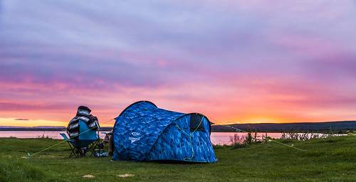 travel camping sunset lake colors landscape iceland colorful europe ngc peaceful colourful camper myvatn mývatn