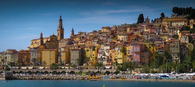 Colour Splash... Menton, Cote d'Azur
