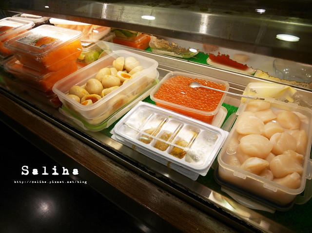 金鰭生魚片丼 (1)
