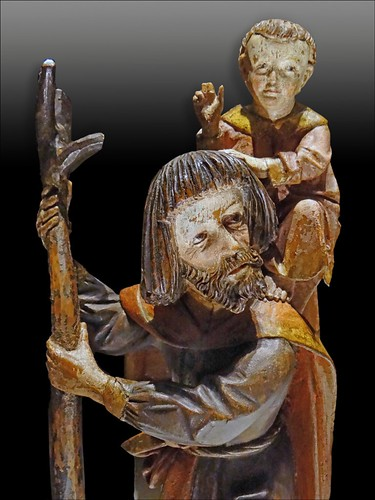Saint Christophe (Musée national du Moyen Âge)