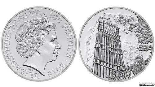 Royal Mint Big ben coin