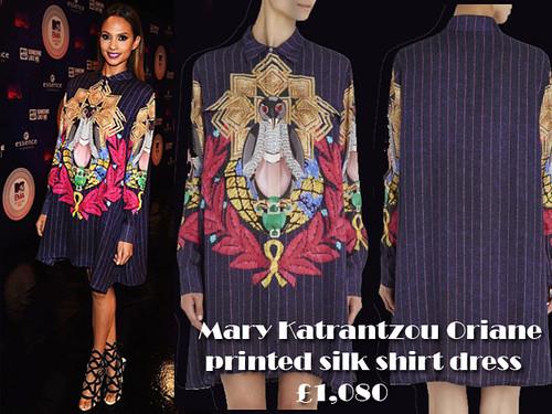 Mary Katrantzou Oriane printed silk shirt dress: Shirt dress trend