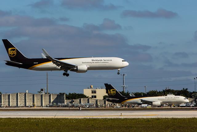 UPS Boeing 767