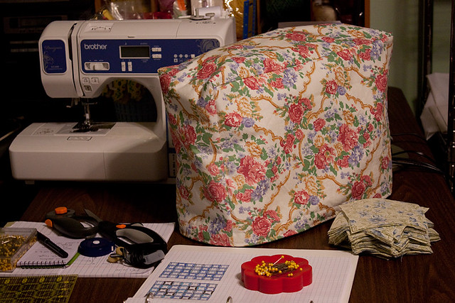 Finished Sewing Machine Cover