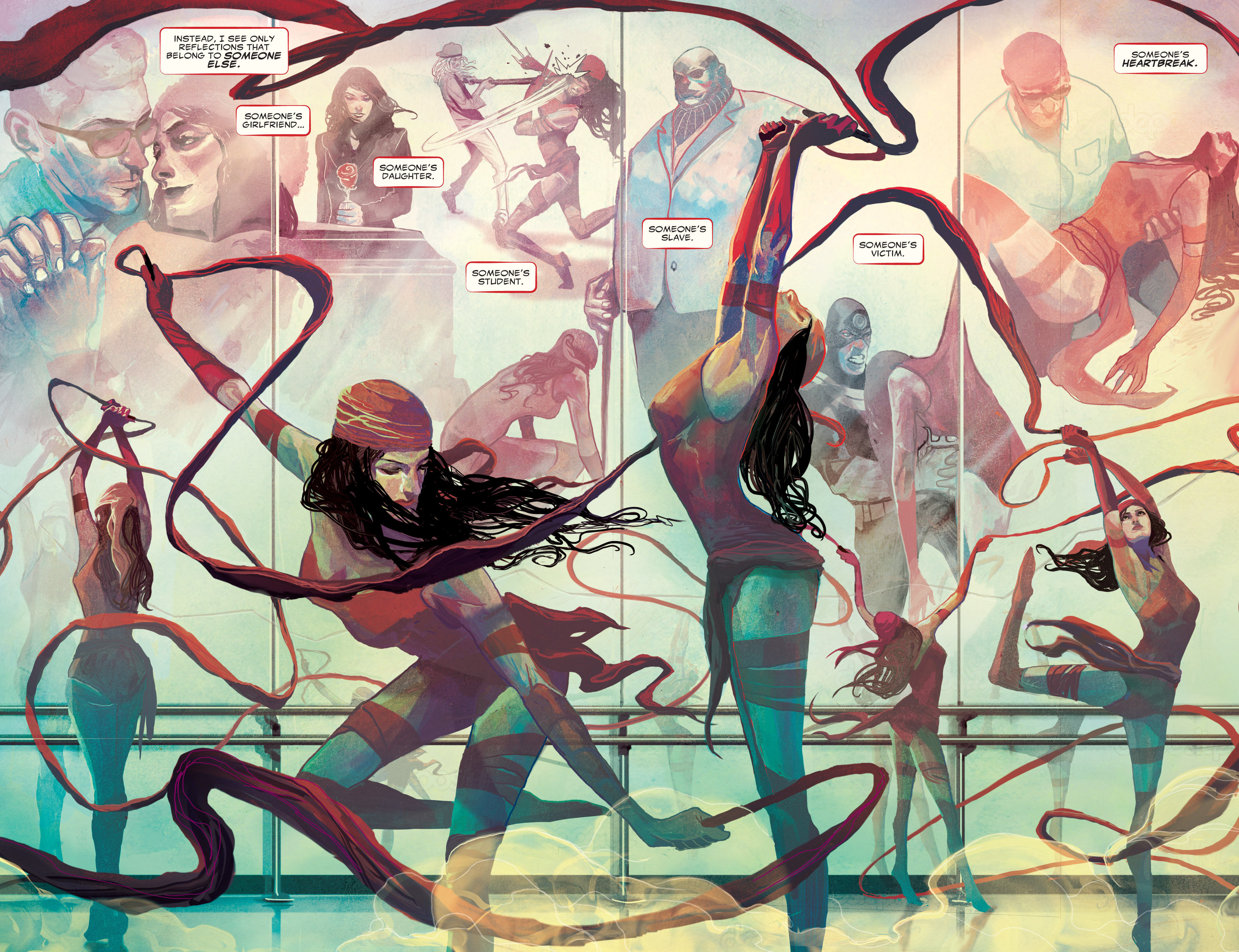 Elektra (2014-) 001-003