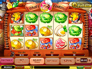 What's Cooking slot game online review