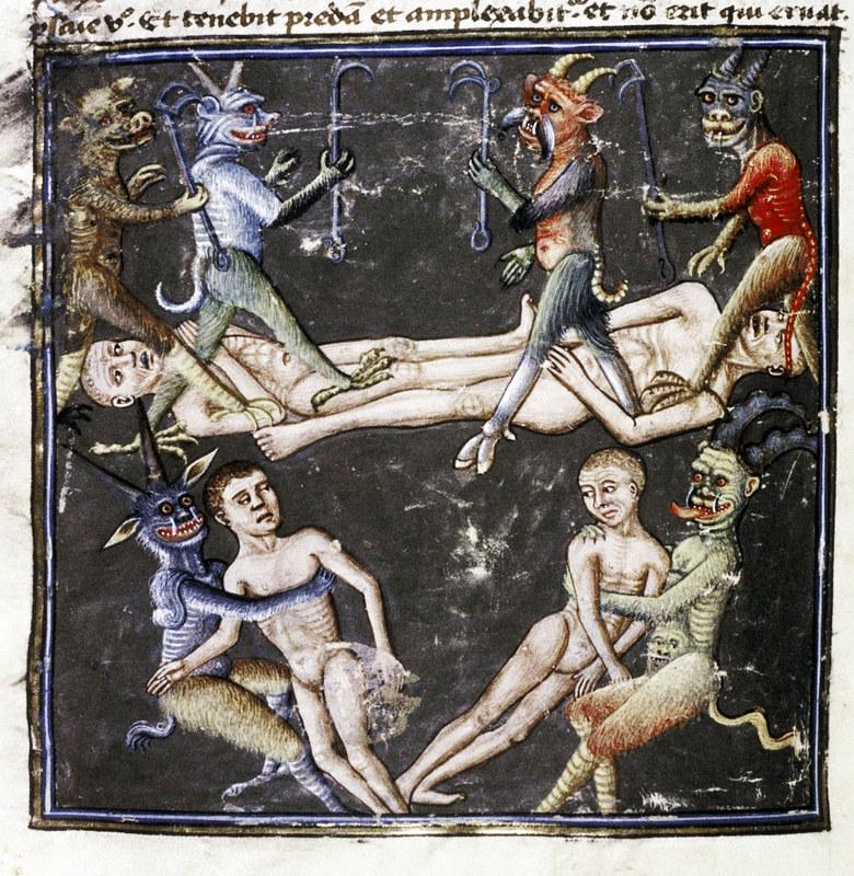 Demons From The Livre de la vigne nostre Seigneur, 1450 - 70 (10)