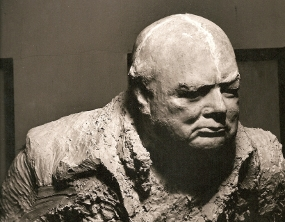 Bust of Churchill