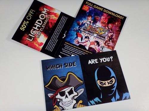 November 2014 Loot Crate Inserts
