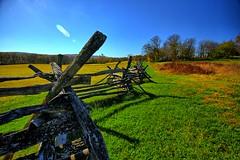 Civil war era fence