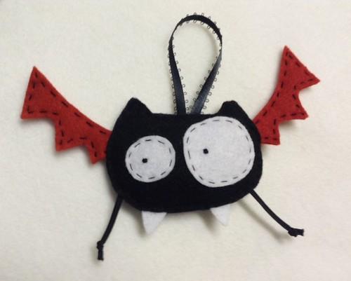 Crazy Bat Ornament
