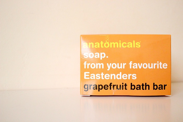 anatomicals grapefruit bath bar