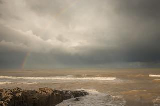 Rainbow on Temara