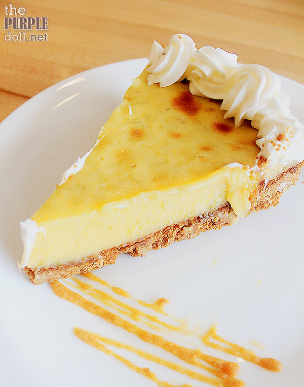 Key Lime Pie(P95 Slice; P500 Whole)