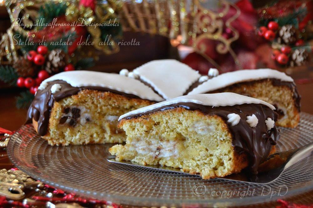 Torta Stella Di Natale.Stella Di Natale Dolce Alla Ricotta Torta Di Natale Ric Flickr
