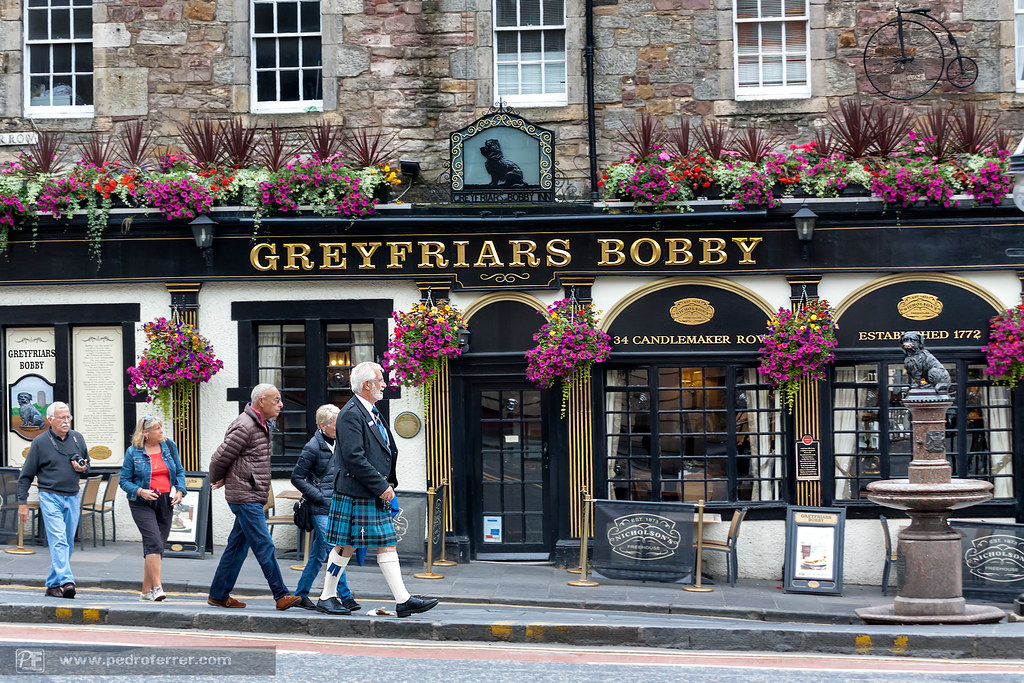 Greyfriars bobby inn - Edimburgo - Escocia