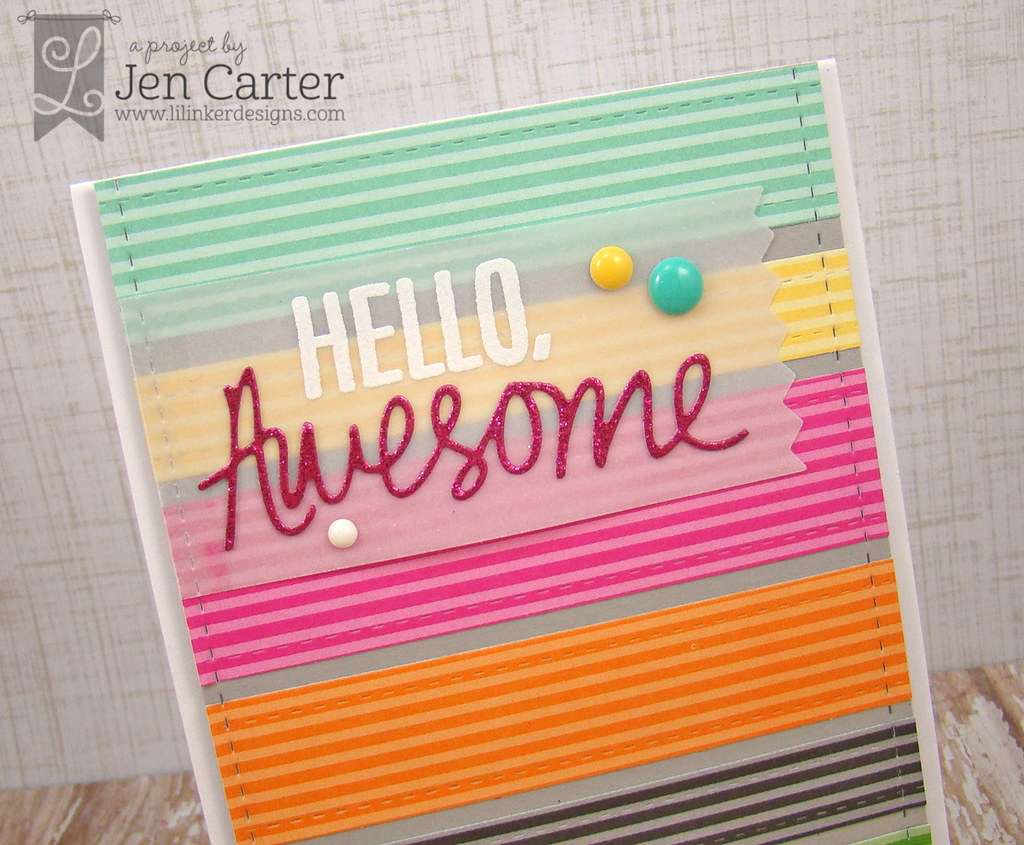 Jen Carter LID Hello, Awesome Closeup WM